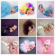 2016 Newborn Photography Props Baby Costume Outfit Cute Princess Skirt Crochet Handmade Pearl Beanie Cap Baby Girl Summer Dress(China (Mainland))