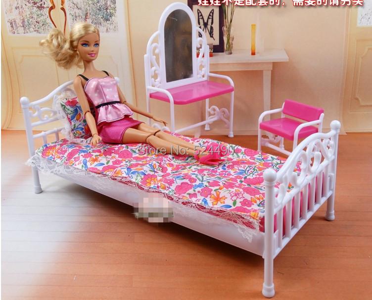 Baby Slaapkamer Meubels : Barbie Doll Bedroom Set Furniture