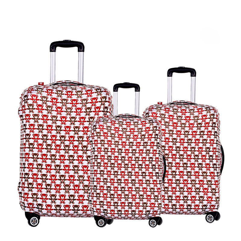 Ручка кабс путешествия багаж чемодан защитный чехол, стрейч, сделанный для 20,24, 28 дюймов чехол, относятся к 18 до 32 дюймов чехол