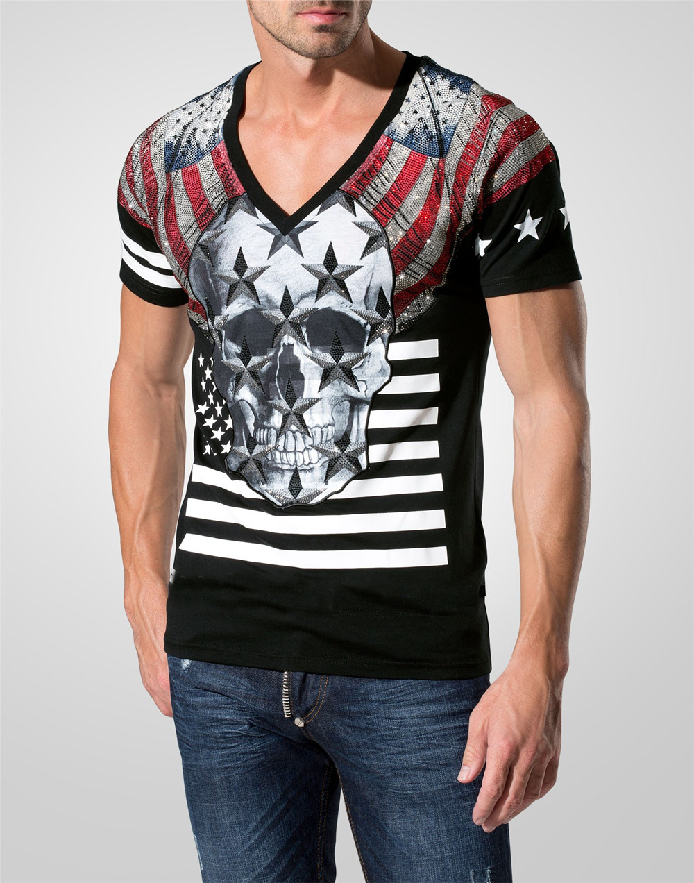 Mens Summer Brand T Shirt 2016 Fashion Men Short Tee 3d