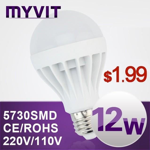 New Led lamp bulbs E27 E14 B22 220v 110v led spot lights lamps SMD 5730 3w 5w 7w 10w 12W 15W 25w 30w for home free shipping(China (Mainland))