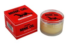 Columbus Mink Oil Paste For Shoes Leather Wear Waterproof And Conditioner Leather Care Free Shipping(China (Mainland))