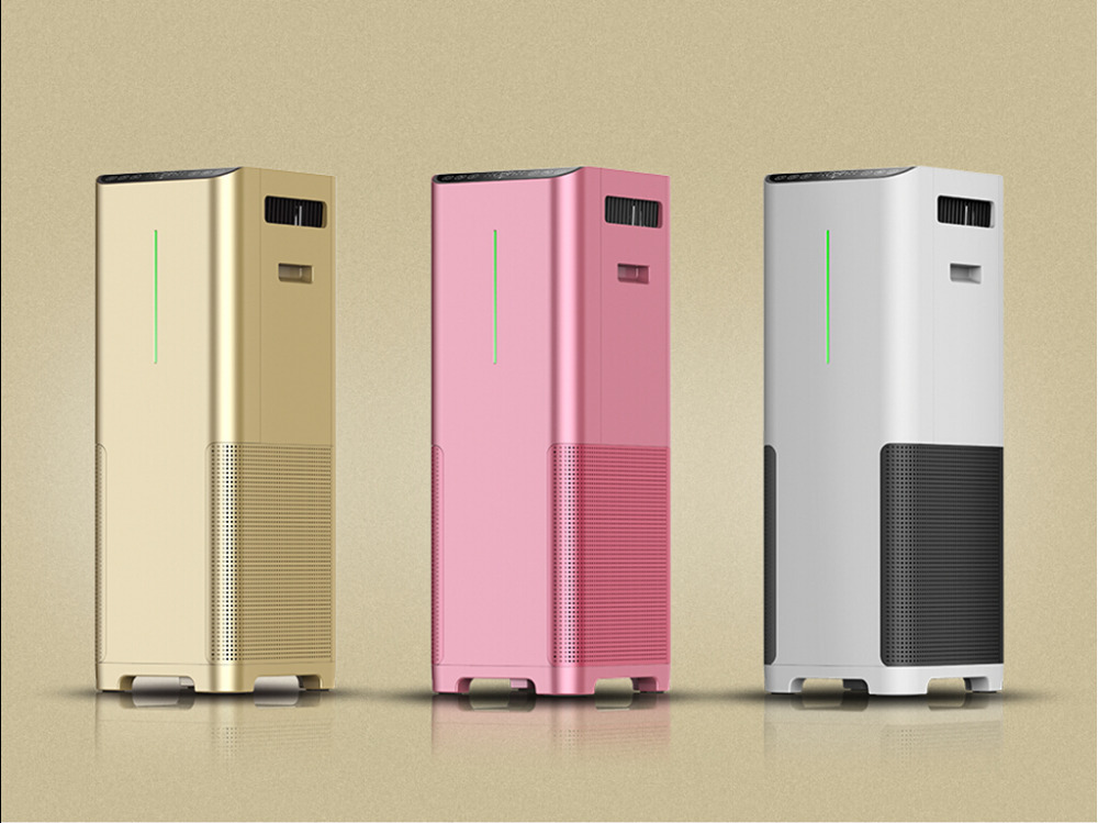 high tech innovative air purifier for air cleaning and