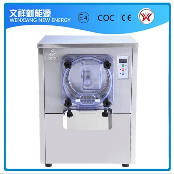table type hard ice cream makingmachine(China (Mainland))