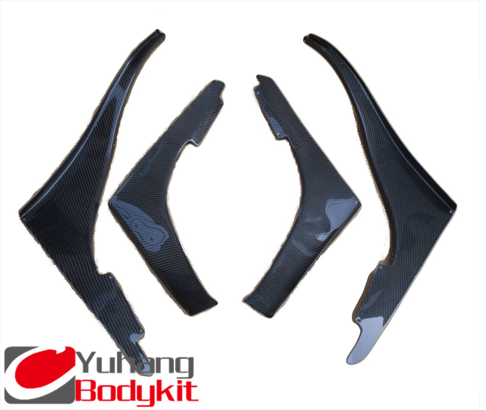 Front Bumper TBO Design Front Bumper Canards CF (4 pcs) For Skyline R32 GTR OEM Carbon Fiber(China (Mainland))