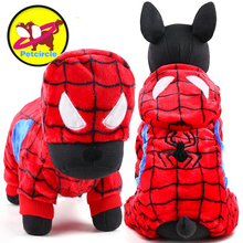 Buy 2017 petcircle hot sale winter Pet Dog Clothes Clothing Small Large spiderman Dog Coats Winter Clothes Jackets Free for $6.18 in AliExpress store