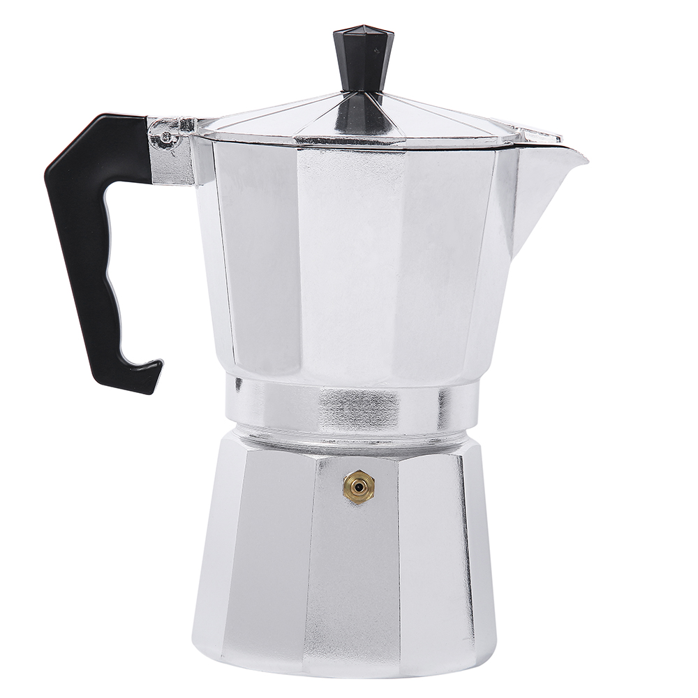6cup 240ml italian stove top moka espresso coffee maker for Best coffee percolator