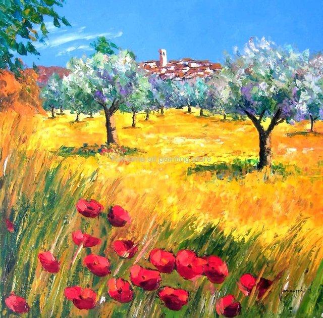 I regali a casa deco jean marc janiaczyk dipinti ad olio for Dipinti ad olio fiori
