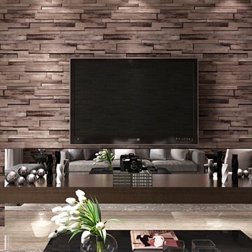 Large Stone Effect Wallpaper