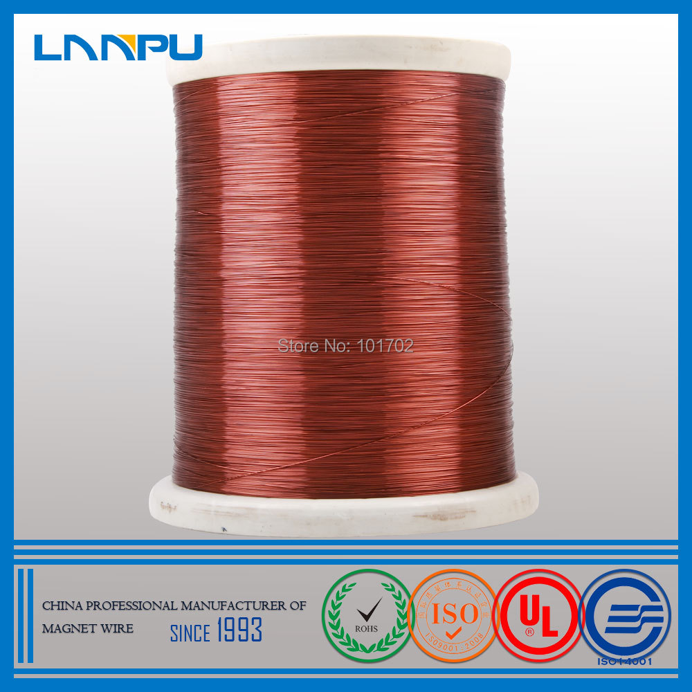 IEC Standards Manufacturer ECCA Enamelled Copper Clad Aluminum Wire for Generator(China (Mainland))