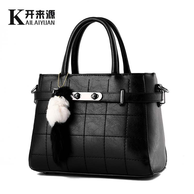 Woman Package 2016 New Pattern Tide Woman Bag TaoBao Clear The New Car Suture Messenger Single Shoulder Handbag(China (Mainland))