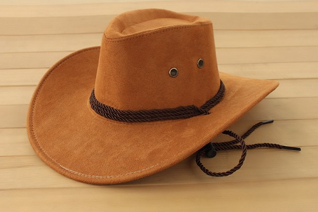 fashion fuax leather western cowboy hats,retail, womens mens tourist caps travel,men outdoor performance hat - Hellboy store