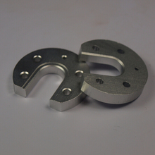 Free shipping 3D printer accessories Reprap Kossel E3D V5 hot end fixed aluminum sandblasting