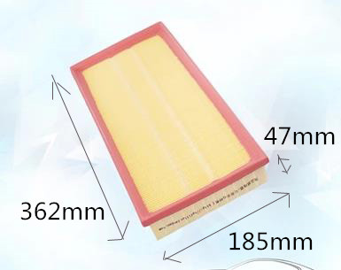Wholesale C37153 Factory Outlet 1J0-112-9620 Plastic Material Car Air Filter ACA269 for AUDI 362*185*47mm WIX42472(China (Mainland))