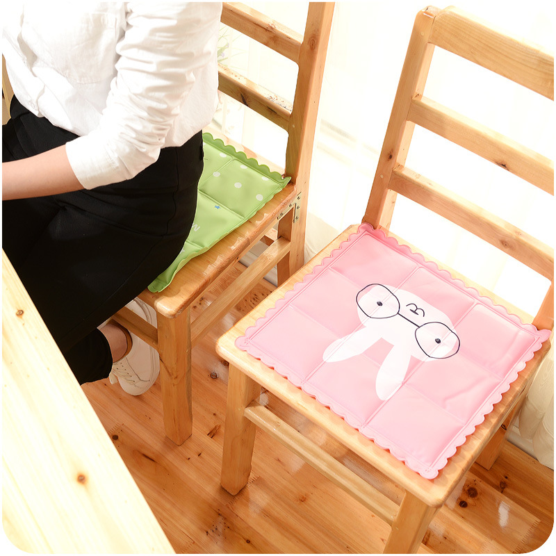 1Pcs Summer Car Home Office Seat Cooler Cushion with Ice Crystal Natural Cooler Keyboard Cooler Chair and table F4748(China (Mainland))