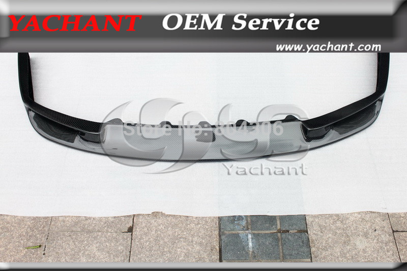 Carbon Fiber JUN Style Front Bumper Lip(Fit GTR Only) For 1989-1994 Nissan Skyline R32 GTR(China (Mainland))