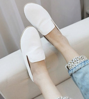 Free shipping brand new Candy color gourd ladle shoes small white point documentary shoes women's shoes, flat shoes