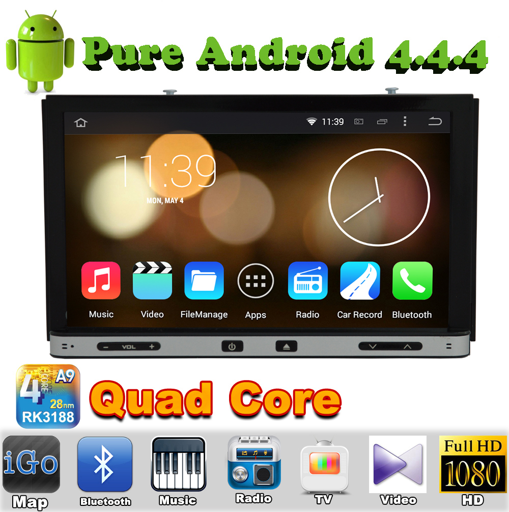"7"" 2 din Quad Core Android 4.4 Car DVD Automotivo For NISSAN LIVINA 2006 2007 2008 2009 2010 NISSAN 350Z GPS Radio Bluetooth(China (Mainland))"