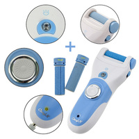 Hot Feet Care Foot Peeling Tool +2 Rollers , Rechargeable Callus/Skin Removal , Foot Care Pedicure Peeling With LED -P5052