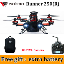 (Get an extra battery)Walkera Runner 250 Advance Runner 250(R) GPS RC Drone Quadcopter with DEVO 7 / OSD/Camera/Backpack RTF