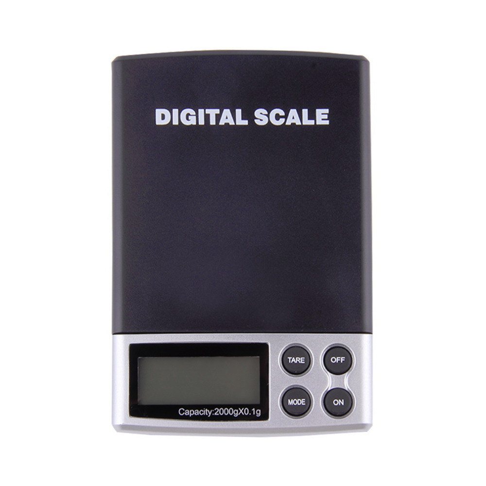 Holiday Sale 2000g x 0 1g Pocket Electronic Digital Jewelry Scales Weighing Kitchen Scales Balance