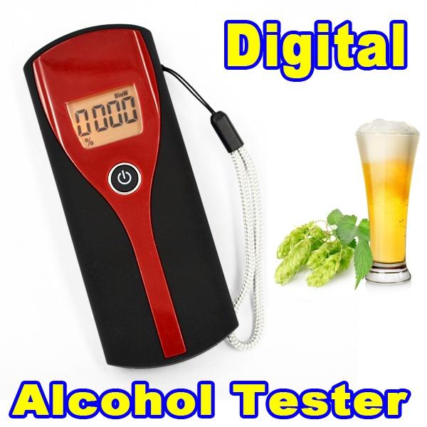 Тестер на алкоголь LCD
