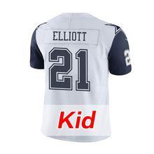 Kid's Men's Youth 2016 Stitiched #21 Ezekiel Elliott #4 Dak Prescott Emmitt Smith #50 Sean Lee #82 Jason Witten #88 Dez Bryant(China (Mainland))
