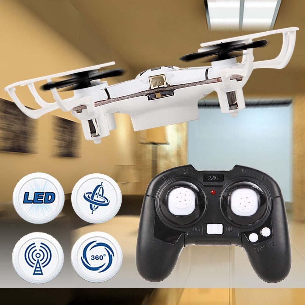1x Mini 4Ch 4 Axis 2.4G Nano RC Quadcopter Small Quad Drone LED Airplanes RTF micro quadcopter rc quadrocopter toy(China (Mainland))