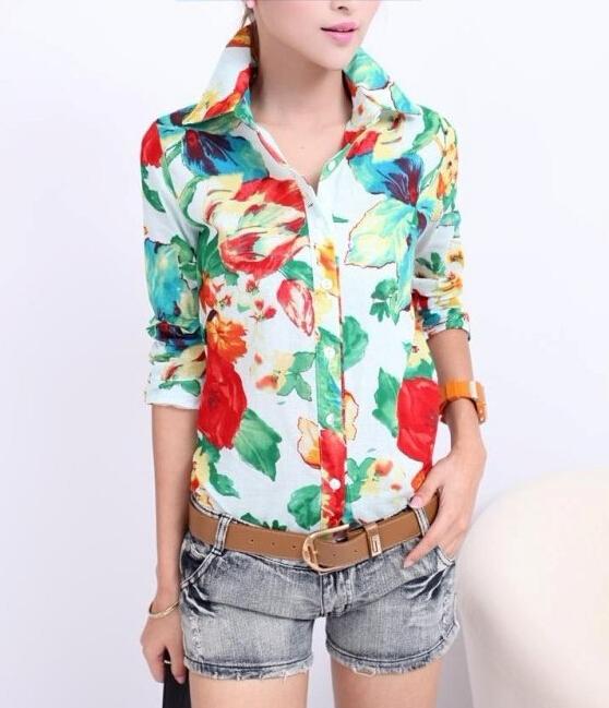 Блузки Рубашечные