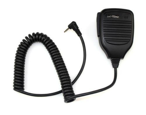 Handheld microphone speaker mic for Baofeng UV-3R walkie Talkie Remote Speaker Microphone with free shipping(China (Mainland))
