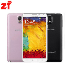"Original Samsung Galaxy Note 3 N9000 N9005  3G RAM 16G ROM 5.7"" Android Mobile Phone Quad Core 13MP Camera Free Shipping(China (Mainland))"