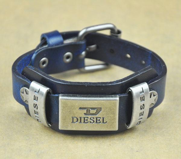 Hotsale Men Woman Jewelry Bracelets Rock Punk Leather Rock Cool Metal Stud Clasp Genunine Wrist Watch Design Leather Bracelet(China (Mainland))