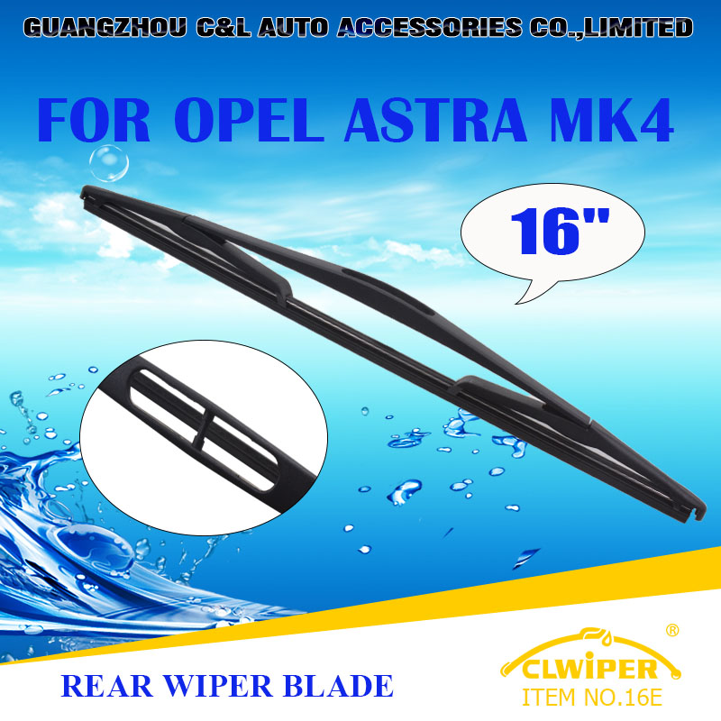 "For OPEL ASTRA MK4 , Exclusive Rear Car Windshield Windscreen Wiper Blade 16"" Fast shipping Cars styling accessories(China (Mainland))"
