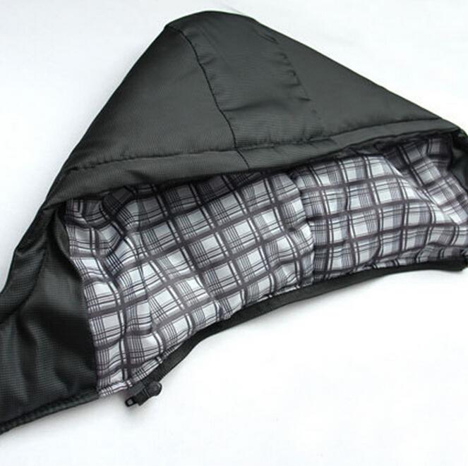 Winter Coat Men black puffer jacket warm male overcoat parka outwear cotton padded hooded down coat