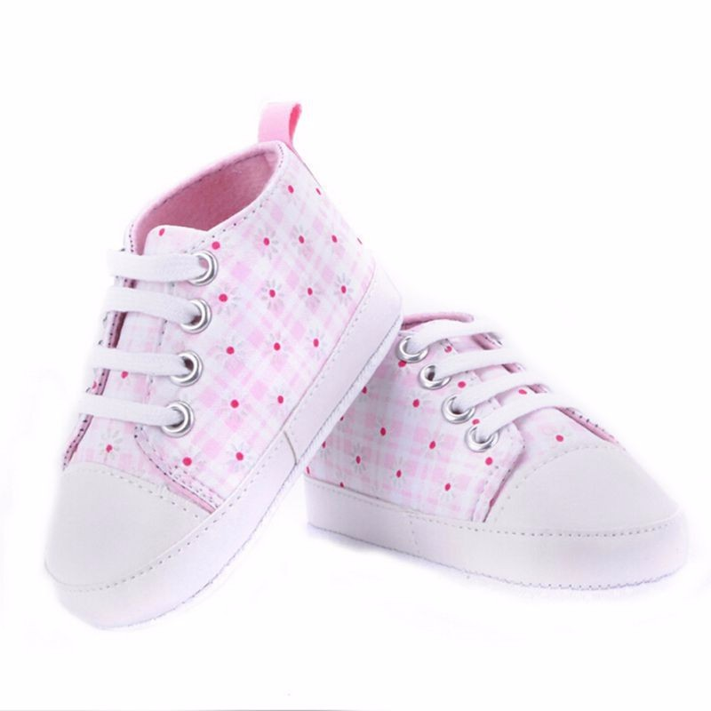 High quality baby shoes girls boys 2016 fashion star canvas shoes soft prewalkers casual baby shoes