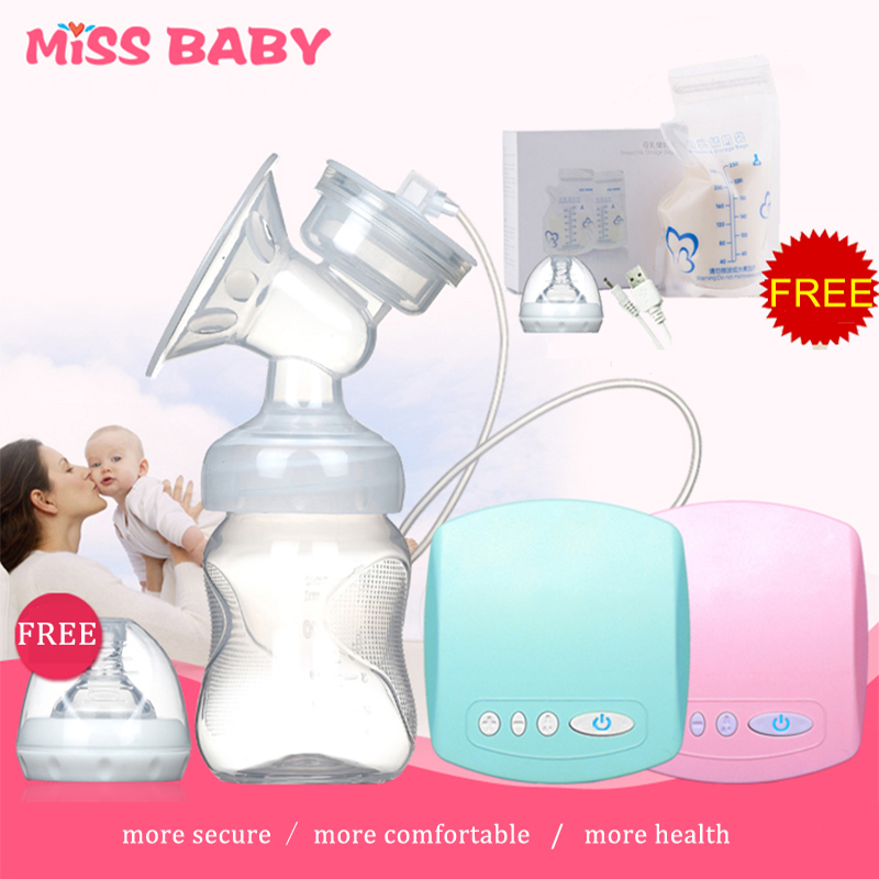 New Intelligent automatic electric breast pumps Nipple Suction milk pump breast feeding medela Single USB Electric Breast Pump(China (Mainland))