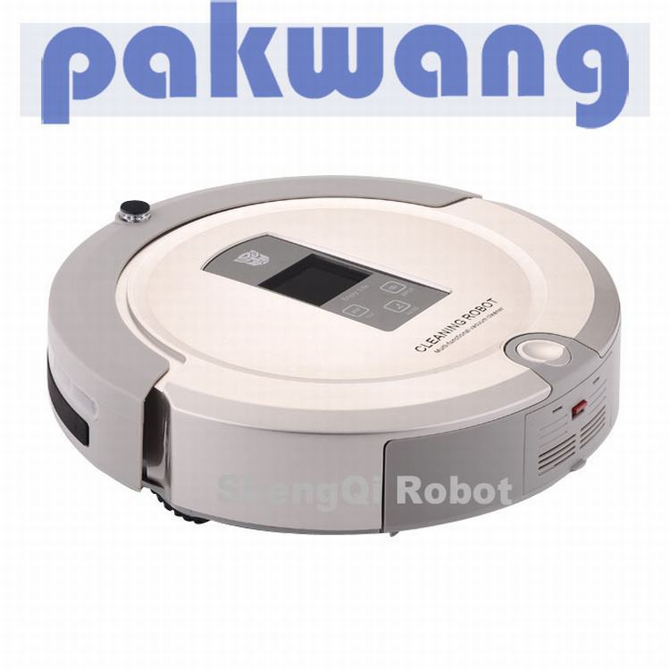 (Free to Russia) High Quality Auto Robot Vacuum Cleaner With Wholesale Price And Good Quality Cheap Robot Cleaner with UV Lamp..