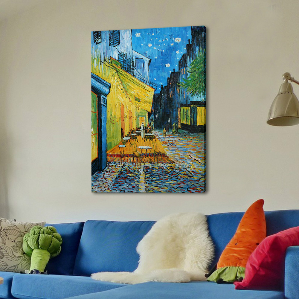 Buy 100 handpained famous oil painting for Van gogh paintings locations