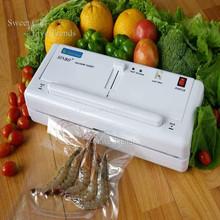 Sweeten Home Electric Vacuum Food Sealer Heat Sealing Machine Household Packing Sealers Food Saver Preserver + Free Shipping(China (Mainland))