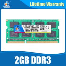 Sodimm Памяти DDR3 2 ГБ 1600 204pin ddr3 PC3-12800 Памяти Ram ddr 3 1333 PC3-10600 Для AMD Intel Ноутбук Жизни гарантия(China (Mainland))