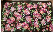 Package mail VB coral fleece blankets air conditioning restoring ancient ways is the national flower big size 5 color!(China (Mainland))