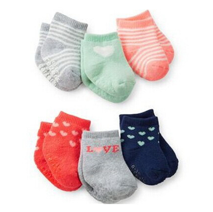 Summer Style 2015 Carters New Born Baby Girl Boy Sock