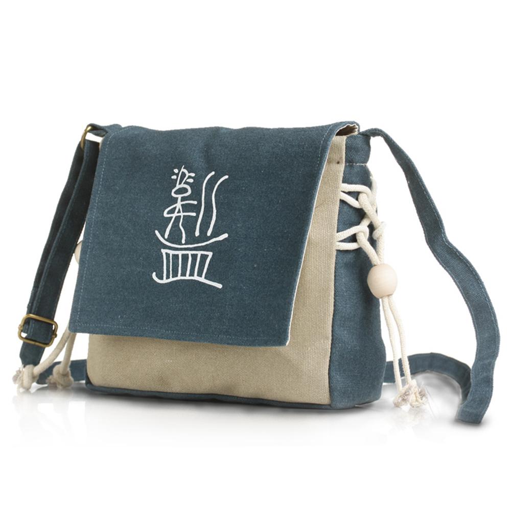 High quality women girls canvas designer handbags letters print beaded small crossbody shoulder bag satchel bags bolsa feminina(China (Mainland))