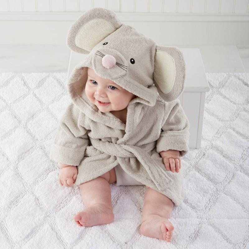 high quality children's bathrobe Retail! Baby pc 1 boy girl soft velvet robe pajamas coral children dress baby clothes