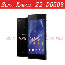 Unlocked Sony Xperia Z2 Original Mobile phone Quad core 5.2'' Waterproof 20.7MP 3GB RAM 16GB ROM Android 4.4 d6503(China (Mainland))