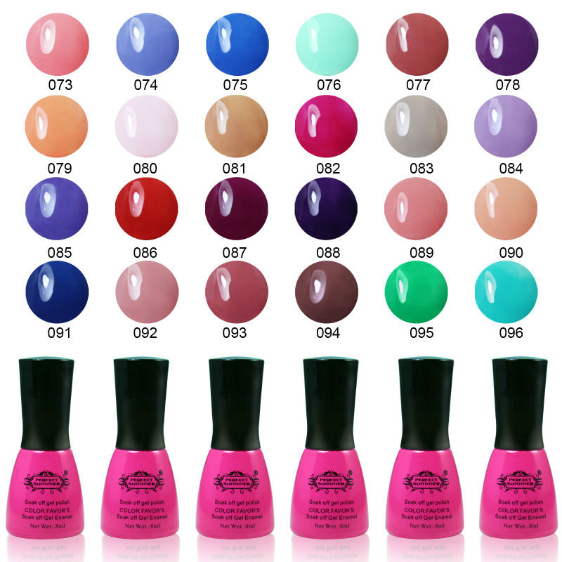 Hot Sale Nail UV Perfect summer 8ml 240 Fashion Color for Choose Long-lasting LED Gel Polish Top Fashion Limited Sale(China (Mainland))