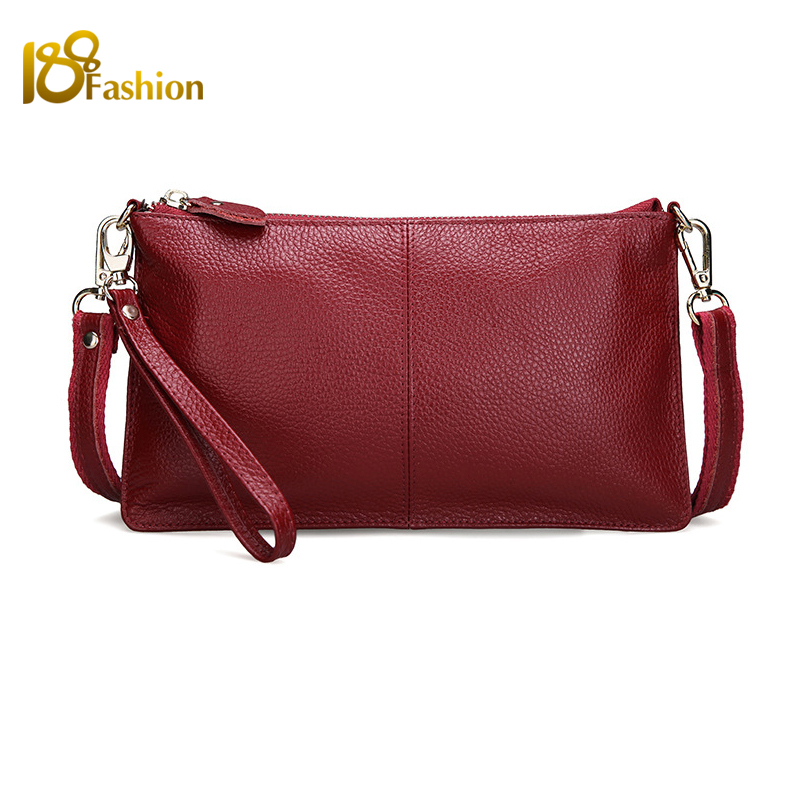Designer Women Leather Handbags High Quality Genuine Leather Womens Candy Color Bag Envelope Clutch Evening Bags for women<br><br>Aliexpress