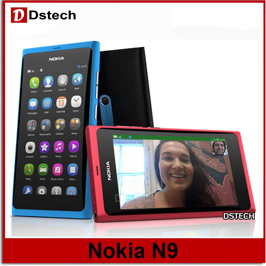 100 Original Nokia N9 Unlocked Cell Phone 00 Lankku Wifi 5 3gb 16gb Ram Hitam Gps 8mp 3g Gsm Meego