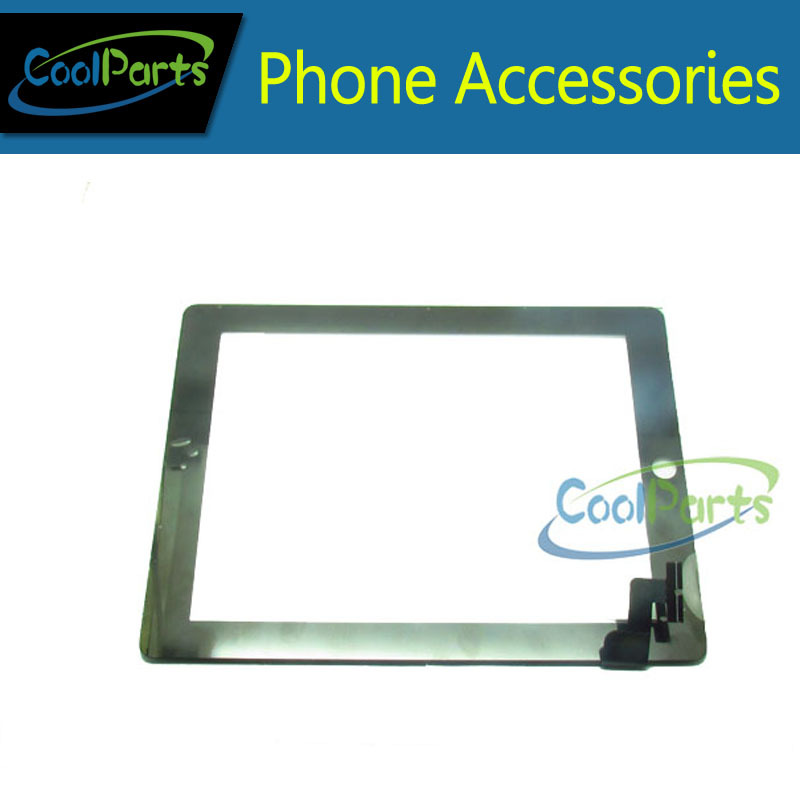 1PC/Lot Replacement Part For  iPad 2Touch Screen Digitizer Touch Glass Free Shipping