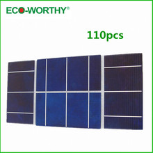 110pcs 3x6 high efficiency Solar Cell for DIY 200w 12V solar panel ,battery charger &free shipping(China (Mainland))